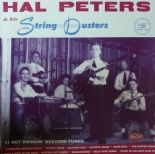 "10""  ✦✦ HAL PETERS & HIS STRING DUSTERS ✦✦ ""Lonesome Hearted Blues"""